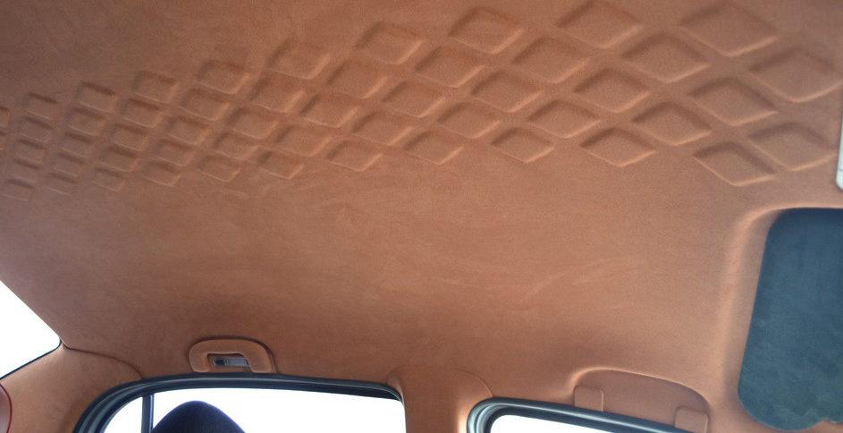 Как выбрать материал для перетяжки потолка авто?