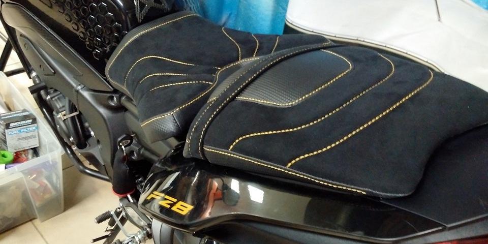 Заднее сиденье на мотоцикл своими руками 71