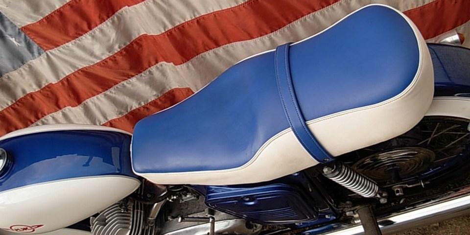 как пошить сиденье на мотоцикл фотоотчет встроенная